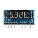 """Χαμηλού Κόστους Μονάδες-4-ψήφιο κοινή ανόδου 0,36 """"ψηφιακή μονάδα οθόνη για Raspberry Pi Arduino + - μπλε"""