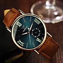 cheap Rings-Men's Wrist Watch Quartz 30 m Leather Band Analog Brown - Black Royal Blue / Stainless Steel