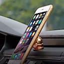 hesapli iPhone Kılıfları-Araba iPhone 6 Plus iPhone 6 iPhone 5S iPhone 5 iPhone 5C iPhone 4/4S Evrensel Cep Telefonu Mount standı tutucu 360° Dönüş Mıknatıslı