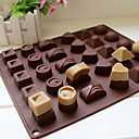 cheap Dog Clothing & Accessories-Bakeware tools Silicone Eco-friendly / 3D / DIY For Cake / For Chocolate / For Candy Mold 1pc