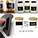 cheap Kitchen Storage-36Pcs Chalk Pen Chalkboard Labels Vinyl Kitchen Memo Sticker