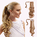 cheap Hair Jewelry-top grade quality synthetic wavy ponytail