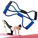 ieftine Benzi Exerciții-exercițiu de antrenament antrenament benzile de rezistență tub coarda pentru yoga 8 tip de fitness corp de moda (culoare aleatorii)