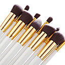 cheap Makeup & Nail Care-10pcs Makeup Brushes Professional Blush Brush Foundation Brush Eyeshadow Brush Concealer Brush Makeup Brush Set Powder Brush Portable / Travel / Eco-friendly Wood