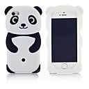 cheap iPod Cases/Covers-New Most Popular Cute 3D Panda Silicone Back Soft Phone Case Protective Cover Skin For Apple iPod touch 6/5