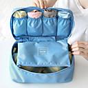 ieftine Genți Călătorie-Organizator Bagaj de Călătorie / Geantă Cosmetice Portabil / Depozitare Călătorie / Multifuncțional pentru Sutiene / Haine Material Textil / Călătorie