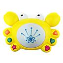ieftine Cercei-fantezie pe tambur ia muzică tambur, desen animat copil-învățare electrice crabi jucărie pentru copii cu lumini