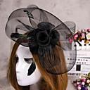 hesapli Saç Takıları-düğün için çiçek tüy peçe fascinator şapka saç takı