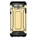 billige Etuier / deksler til Galaxy J-modellene-Etui Til Samsung Galaxy Samsung Galaxy Etui Vanntett / Støtsikker Bakdeksel Rustning PC til J7(2016) / J5 (2016) / J1 Mini