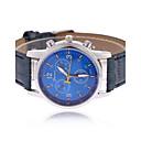 preiswerte LED-Zubehör-Herrn Armbanduhr Armbanduhren für den Alltag PU Band Charme Schwarz / Blau / Braun / Tianqiu 377