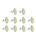 hesapli LED Spot Işıkları-3W GU4(MR11) LED Spot Işıkları MR11 12 led SMD 5730 Sıcak Beyaz Serin Beyaz 250lm 3500/6000K DC 12V