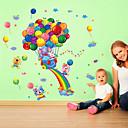 levne Nálepky-Módní Komiks Samolepky na zeď Samolepky na stěnu Ozdobné samolepky na zeď, Vinyl Home dekorace Lepicí obraz na stěnu Stěna