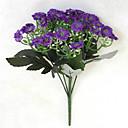 hesapli Yapay Çiçekler-Yapay Çiçekler 1 şube minimalist tarzı Orkideler Masaüstü Çiçeği