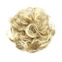 hesapli Sentetik Peruklar-Sentetik Peruklar / Takma Topuzlar Bukle / Klasik Katmanlı Saç Kesimi Sentetik Saç Kabarık saç modeli Peruk Kadın's Şort Blonde