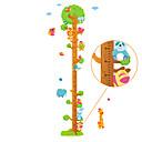 저렴한 베이킹 도구&가젯-하이트 스티커 - 동물의 벽 스티커 경치 / 동물 거실 / 침실 / 서재 / 오피스 / 이동가능
