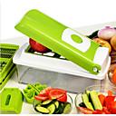 Χαμηλού Κόστους Σουπλά-Εργαλεία κουζίνας Ανοξείδωτο Ατσάλι Δημιουργική Κουζίνα Gadget Cutter & Slicer για λαχανικών 1pc