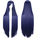 hesapli Makyaj ve Tırnak Bakımı-Sentetik Peruklar / Kostüm Perukları Düz Bantlı Sentetik Saç Peruk Kadın's Bonesiz Sarışın