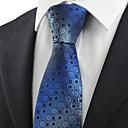 hesapli iPhone Kılıfları-Erkek Parti İş Temel Pamuklu Suni İpek Polyester Boyun Bağı Geometrik