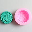 hesapli Fırın Araçları ve Gereçleri-Bakeware araçları Silikon Doğum Dünü / Kendin-Yap Kek / Kurabiye / Tart Pişirme Kalıp