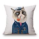 tanie Poduszki-szt Cotton / Linen Pokrywa Pillow, Wzór zwierzęcy Wzory graficzne Nowość Na co dzień Modern / Contemporary