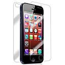 hesapli iPhone SE/5s/5c/5 İçin Ekran Koruyucular-Ekran Koruyucu Apple için iPhone 6s iPhone 6 iPhone SE/5s 4 parça Ön ve Arka Koruyucu