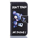 hesapli Şarj Aletleri-Pouzdro Uyumluluk Samsung Galaxy Samsung Galaxy S7 Edge Cüzdan / Kart Tutucu / Satandlı Tam Kaplama Kılıf Çiçek Yumuşak PU Deri için S7 edge / S7 / S6 edge