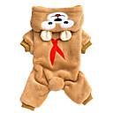 hesapli PS3 Aksesuarları-Kediler / Köpekler Düğüm / Tulumlar Kahverengi / Gri Kış / İlkbahar/Kış Hayvan Sıcak Tutma / Moda, Dog Clothes / Dog Clothing-Lovoyager