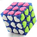 hesapli Sihirli Küp-Rubik küp YONG JUN 3*3*3 Pürüzsüz Hız Küp Sihirli Küpler bulmaca küp profesyonel Seviye Hız yarışma Kalp Aşıklar Klasik & Zamansız Çocuklar için Yetişkin Oyuncaklar Genç Erkek Genç Kız Hediye