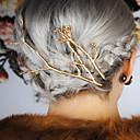 hesapli Saç Takıları-Kristal / Kumaş / alaşım - Tiaras / Saç tokası / tokası 1 Düğün / Özel Anlar / Parti / Gece Başlık / Saç Pimi