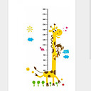 cheap Beads & Beading-Height Stickers - Animal Wall Stickers Animals Living Room / Bedroom / Boys Room / Washable / Removable / Re-Positionable