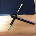 baratos Instrumentos de Desenho & Escrita-Caneta Caneta Canetas esferográficas Caneta, Plástico Preto / Azul cores de tinta Para material escolar Material de escritório Pacote de