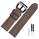 baratos Pingentes para Celular-Pulseiras de Relógio para Fenix 3 Garmin Pulseira Esportiva Metal / Couro Tira de Pulso