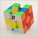 billige Magiske kuber-Magic Cube IQ-kube YONG JUN 3*3*3 Glatt Hastighetskube Magiske kuber Kubisk Puslespill profesjonelt nivå Hastighet Klassisk & Tidløs Barne Leketøy Gutt Jente Gave