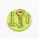 hesapli Sihirli Kartlar-Bakeware araçları Silikon Doğum Dünü / Kendin-Yap Kek / Tart / Çikolota karikatür Şekilli Pişirme Kalıp 1pc