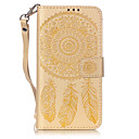 cheap Headsets & Headphones-Case For Samsung Galaxy Samsung Galaxy Case Wallet / Card Holder / with Stand Full Body Cases Dream Catcher Soft PU Leather for J5 (2016) / J5 / J3 (2016)