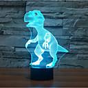 ieftine Becuri LED Glob-1 piesă 3D Nightlight Decorativ LED