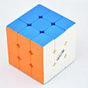 hesapli Sihirli Küpler-Sihirli küp IQ Cube QI YI LEISHENG 120 3*3*3 Pürüzsüz Hız Küp Sihirli Küpler bulmaca küp profesyonel Seviye Hız yarışma Klasik & Zamansız Çocuklar için Yetişkin Oyuncaklar Genç Erkek Genç Kız Hediye