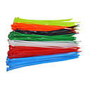 cheap Travel Comfort-100PCS/ Bag Fasten Wire Self-Locking Cable 4x200mm Nylon Cable Zip Ties Wrap
