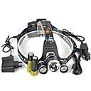 preiswerte Stirnlampen-13000 lm Stirnlampen / Sicherheitsleuchten LED 1 Modus Winkelkopf / Für Fahrzeuge geeignet / Super Leicht