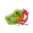 hesapli Fırın Araçları ve Gereçleri-Bakeware araçları Silikon Çevre-dostu / 3D / Kendin-Yap Kek / Tart / Çikolota Hayvan Pişirme Kalıp 1pc