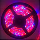 hesapli LED Şerit Işıklar-5 m 5red1blue 300led smd5050 ip65 topraksız sistemleri led bitki ışık büyümek su geçirmez led büyümek şerit ışık (dc12v)