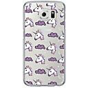 Buy Cartoon Unicorn Pattern Soft Ultra-thin TPU Back Cover Samsung GalaxyS7 edge/S7/S6 edge/S6 edge plus/S6/S5/S4