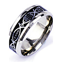 cheap Rings-Men's Band Ring - Punk, Rock 6 / 7 / 8 / 9 / 10 Silver For Daily Casual