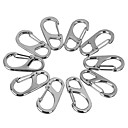 cheap Carabiners-Others Multitools Buckle Durable Convenient Multi Function Pocket Hiking Camping Travel Indoor Outdoor Alloy cm 10 pcs