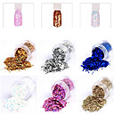 Buy New Fashion Nail Glitter Powder Personal Design DIY Art Decoration Colorful Accessories 3D Stickers(10G)