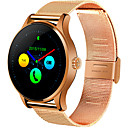 cheap Smartwatches-Smartwatch for iOS / Android Heart Rate Monitor / Long Standby / Touch Screen / Distance Tracking / Pedometers Stopwatch / Activity Tracker / Sleep Tracker / Sedentary Reminder / Alarm Clock / 64MB