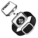 رخيصةأون تزيين المنزل-حزام إلى Apple Watch Series 4/3/2/1 Apple بكلة عصرية جلد طبيعي شريط المعصم