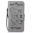 hesapli iPhone Kılıfları-Pouzdro Uyumluluk Apple iPhone 7 / iPhone 6 / iPhone 5 Kılıf Cüzdan / Kart Tutucu / Satandlı Tam Kaplama Kılıf Karton Sert PU Deri için iPhone 7 Plus / iPhone 7 / iPhone 6s Plus