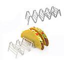 hesapli LED Araba Ampulleri-3-4 taco tutucular meksika gıda paslanmaz çelik raf standı