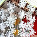 economico Utensili per frutta e verdura-6pcs Fiocco di neve Ornamenti Presepi per esterni, Decorazioni di festa 28 22 14 11 8.5 6